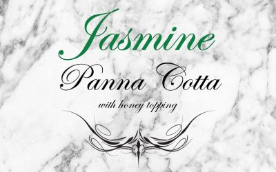 Tea Recipe: Jasmine Panna Cotta