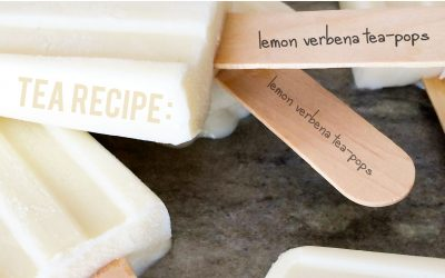 Tea Recipe: Lemon Verbena Tea-Pops